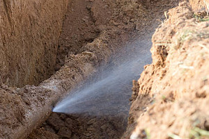 Plumbing Contractor for Water and Sewer Line Services